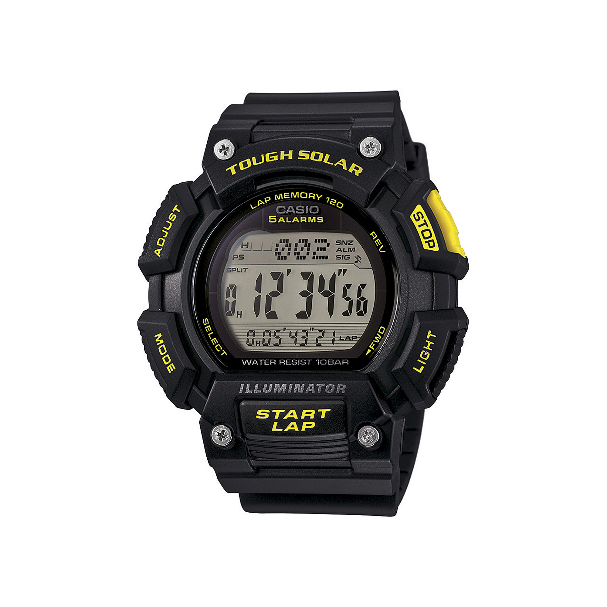 Casio Tough Solar Illuminator Mens Runner Sport Watch STLS110H-1C