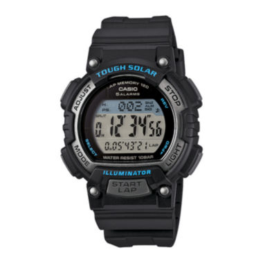 jcpenney.com | Casio® Tough Solar Illuminator Womens Runner Sport Watch STLS300H-1A