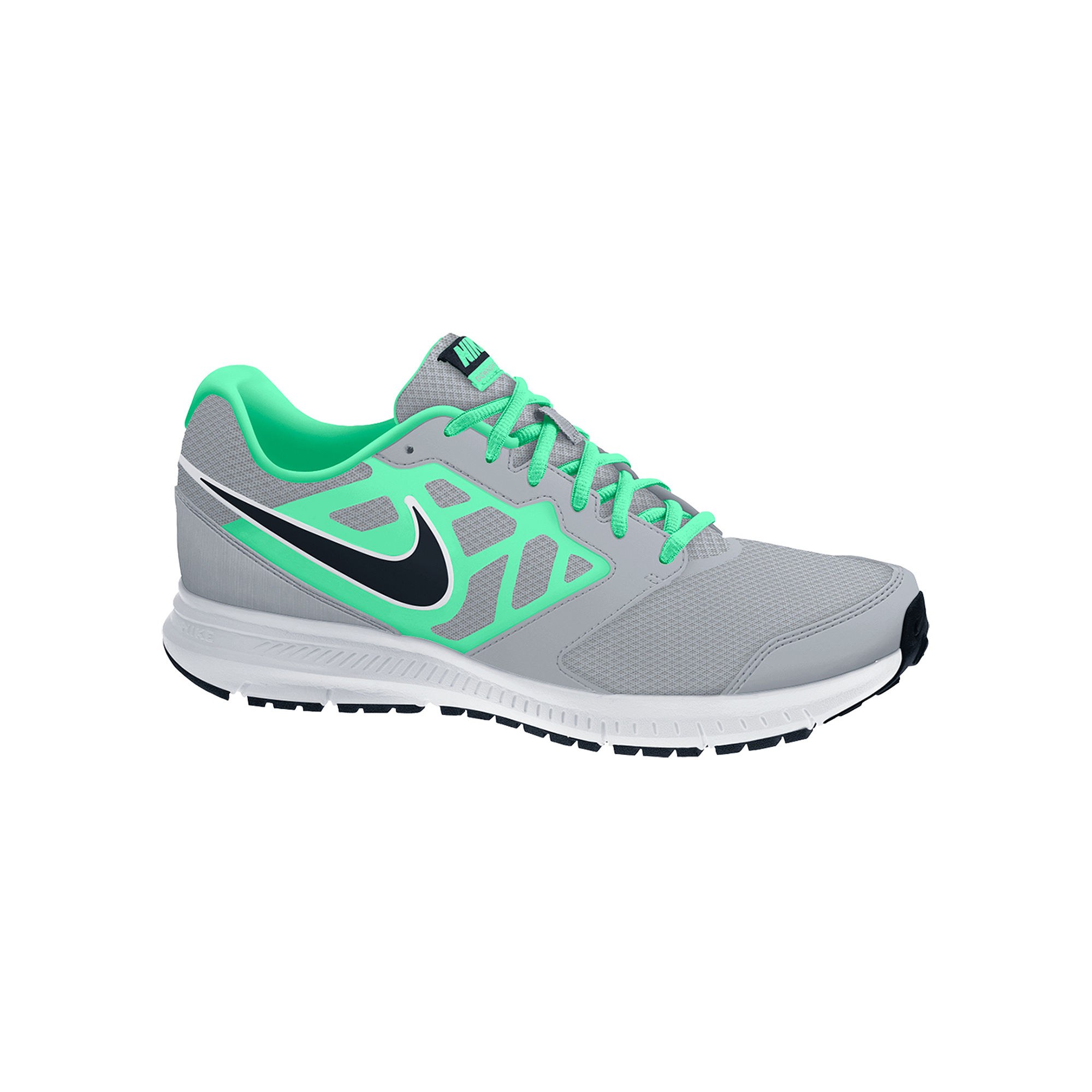 UPC 888409618985 product image for Nike - Downshifter 6 (Wolf Grey/Green  Glow/