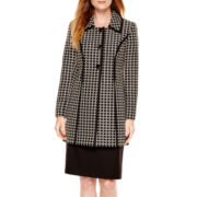 R&K Originals® Windowpane Jacket and Skirt Set