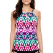 Jamaica Bay® High-Neck Tankini Swim Top