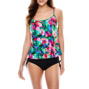 Jamaica Bay® Triple Tier Tankini Swim Top or Adjustable Bottoms