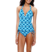 a.n.a® Push-Up Tankini  Swim Top or Adjustable Hipster Bottoms