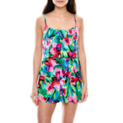 Jamaica Bay® Triple Tier 1-pc. Swimdress