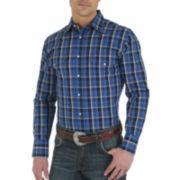 Wrangler® Wrinkle-Resistant Western Woven Shirt