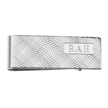 jcpenney.com | Personalized Snakeskin Pattern Money Clip Wallet