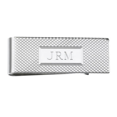 jcpenney.com | Personalized Grid Pattern Money Clip