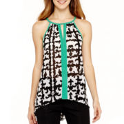 nicole by Nicole Miller® Keyhole Tank Top