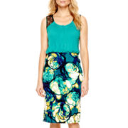 Worthington® Pleated Blouse or Print Pencil Skirt