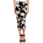 i jeans by Buffalo Print Midi Skirt