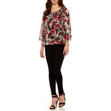 jcpenney.com | Alyx® Smocked Bubble Top or Slim-Leg Millenium Pants