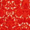 Trcycle Red Damask
