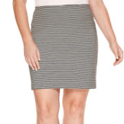 a.n.a® Pull-On Ponte Knit Skirt - Plus