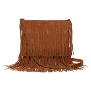 T-Shirt & Jeans™ Fringe Tiered Crossbody Bag