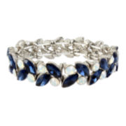 Mixit Blue Stretch Bracelet
