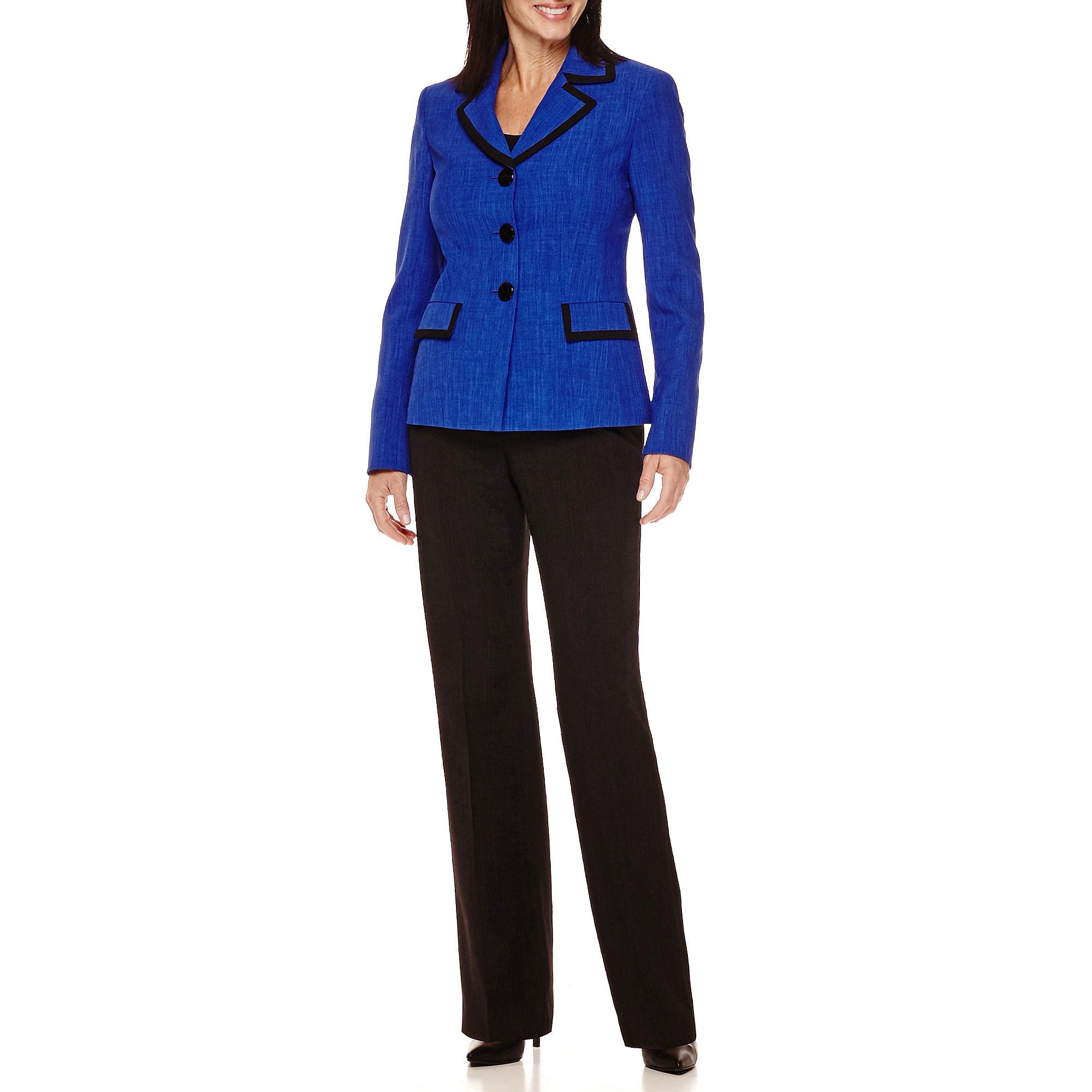 Le Suit Basket Weave Pant Suit plus size,  plus size fashion plus size appare