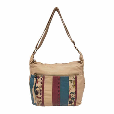 St. John's Bay® Quilted Convertible Hobo Bag - JCPenney