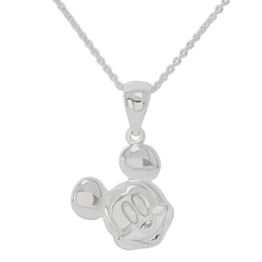 jcpenney.com | Disney Mickey Sterling Silver Pendant Necklace