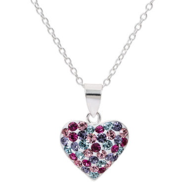 jcpenney.com | Multi Color Crystal Round Pendant