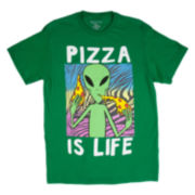 Alien Pizza Short-Sleeve Tee
