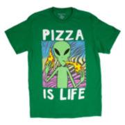 Alien Pizza Short-Sleeve Tee
