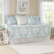 Laura Ashley 5-pc. Damask + Scroll Daybed Cover Set