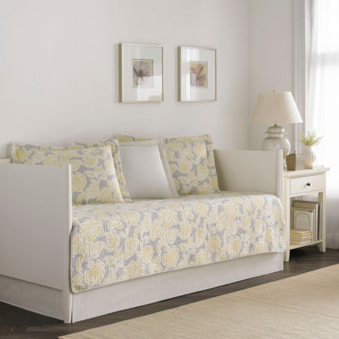 jcpenney.com | Laura Ashley Joy 5-pc. Floral Daybed Cover Set