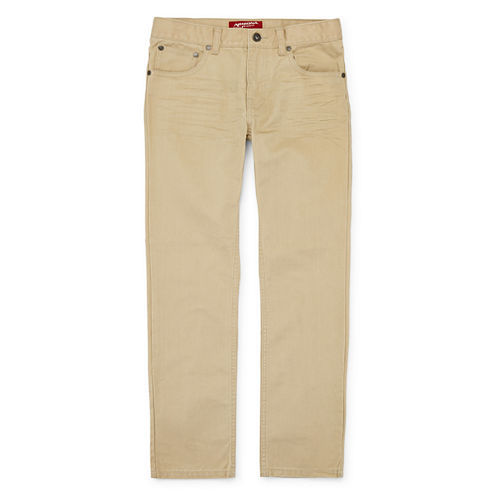 Arizona Straight-Fit Jeans - Boys 8-20, Slim and Husky