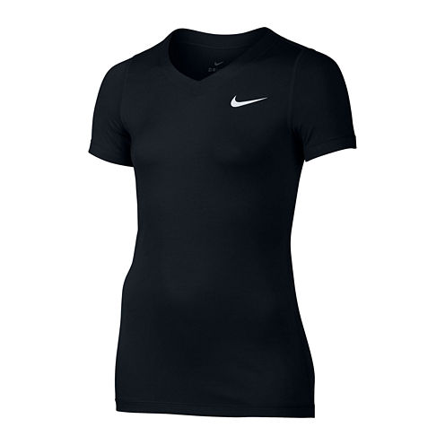 Nike® Short-Sleeve Dri-FIT Victory Tee - Girls 7-16