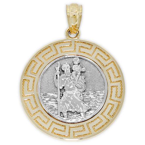 St. Christopher 14K Gold Pendant