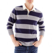 jcp™ Rugby-Stripe Sweater