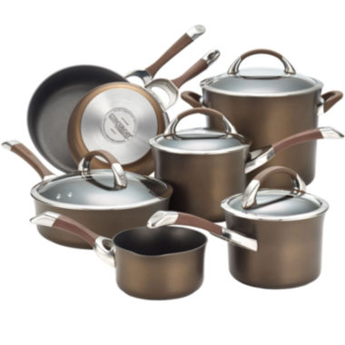 jcpenney.com | Circulon® Symmetry 11-pc. Hard-Anodized Cookware Set