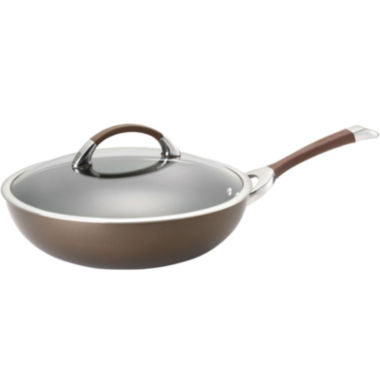 "jcpenney.com | Circulon® Symmetry 12"" Hard-Anodized Covered Essential Pan"