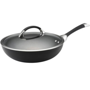 "jcpenney.com | Circulon® Symmetry 12"" Covered Stir-Fry Pan"