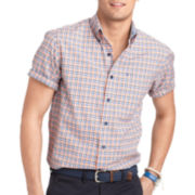 IZOD® Small Check Woven Shirt