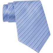 Claiborne® Pin Dot Stripe Silk Tie