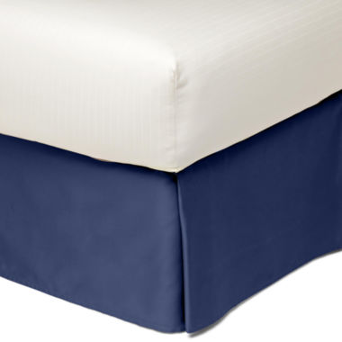 jcpenney.com | Royal Velvet® Cotton Sateen Tailored Bedskirt