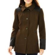 nicole by Nicole Miller® Wool-Blend Pea Coat