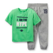 Carter's® 2-pc. Short-Sleeve Pajama Set – Boys 2t-4t