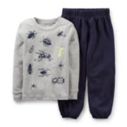 Carter's® 2-pc. Long-Sleeve Bug Pajama Set – Boys 2t-4t