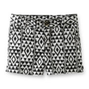 Carter's® Geo Print Woven Shorts – Girls 2t-4t