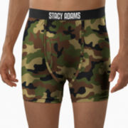 Stacy Adams® Camo Boxer Briefs