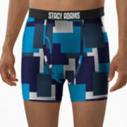 Stacy Adams® Printed Boxer Briefs–Big & Tall