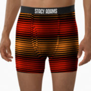 Stacy Adams® Striped Boxer Briefs–Big & Tall