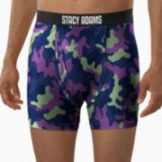 Stacy Adams® Patchwork Camo Boxer Briefs–Big & Tall