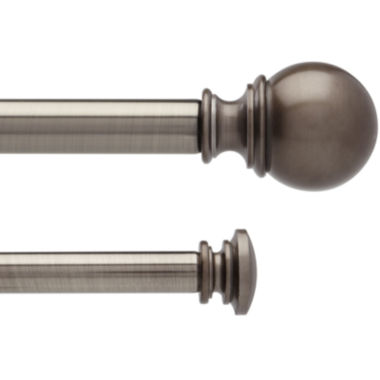 "jcpenney.com | Umbra® Verge Double 1"" Adjustable Curtain Rod"