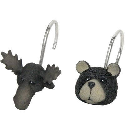 Bacova Exploring Critters Shower Curtain Hooks