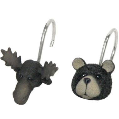 jcpenney.com | Bacova Exploring Critters Shower Curtain Hooks