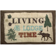 Bacova Live Love Lodge Rug