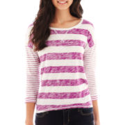 Arizona Drop-Shoulder High-Low Tee